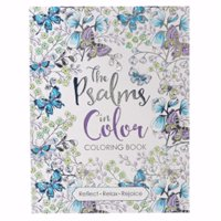 Christian Art Gifts 088362 Psalms in Color Adult Coloring Book