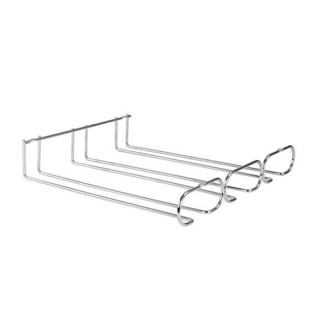 Spectrum Diversified Under the Cabinet Triple Stemware Holder, Chrome, 54670 ()