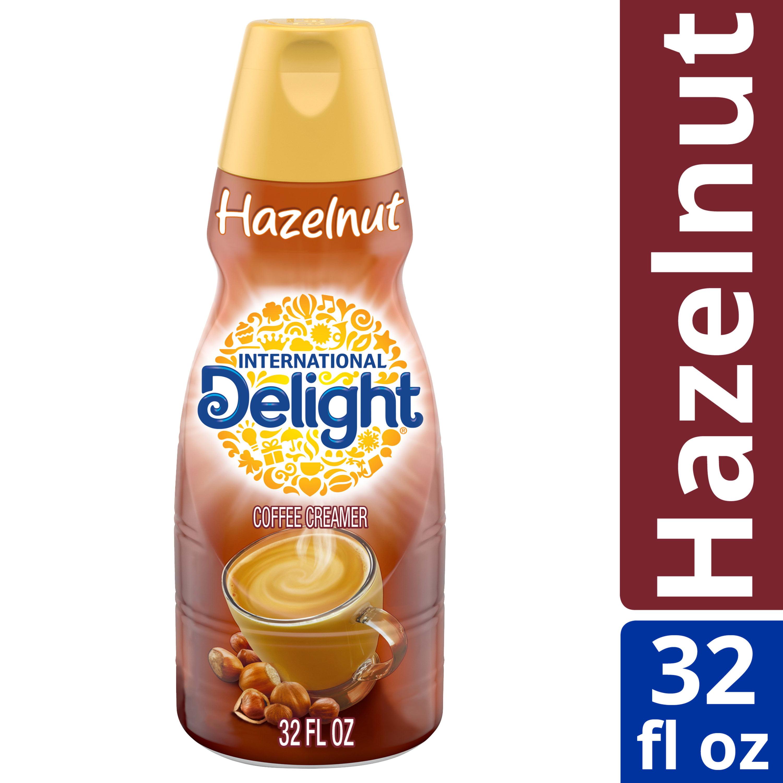 International Delight Hazelnut Coffee Creamer 32 Oz Walmart Com Walmart Com