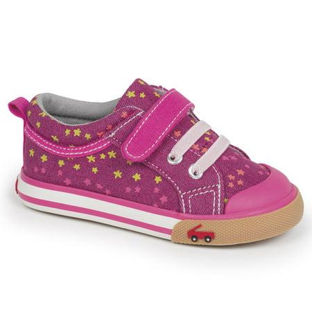 See Kai Run - See Kai Run Kristin Berry Hot Pink Sneaker - Walmart.com 28df59e28d6d