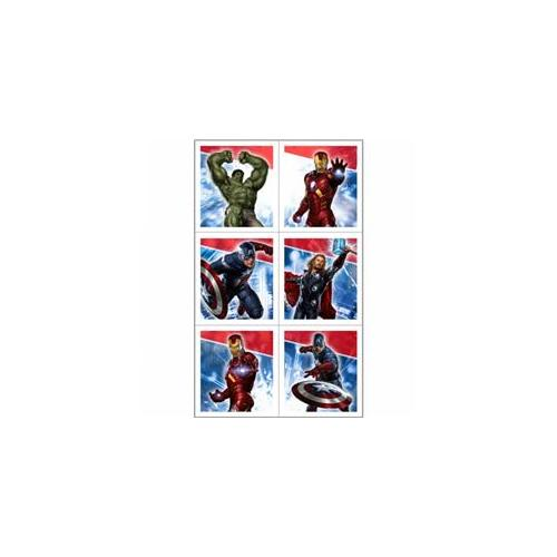 Hallmark 221187 The Avengers Sticker Sheets