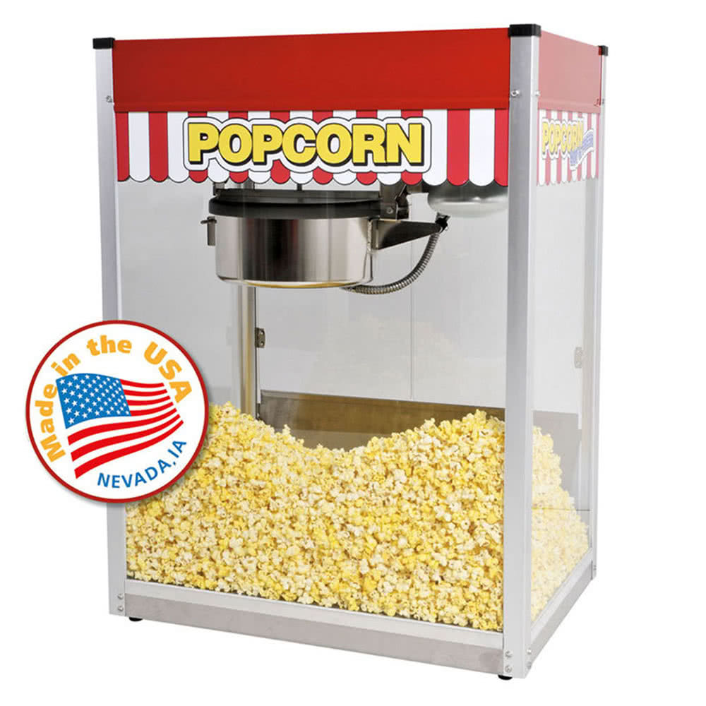 1120810 Classic Pop 20 oz. Popcorn Machine by TableTop king