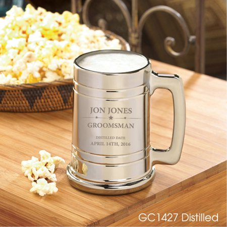 Wedding Gifts For Groomsmen (Personalized Groomsmen Metallic)