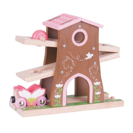 Bigjigs Toys  Pixie Dust Tree House Wooden Train