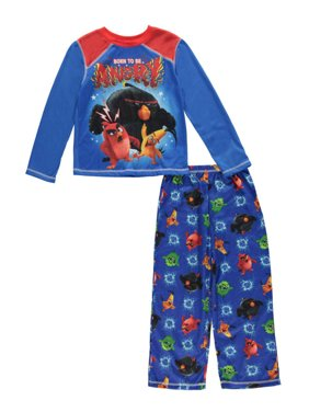 """Little Boys' """"Born to Be Angry"""" 2-Piece Pajamas (Sizes 4 - 7)"""