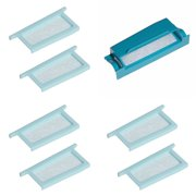 """Philips DreamStation Filters Kit, Replacement Disposable/Reusable Filters for Dream Station CPAP (1Reusable 6Disposable), Same as OEM Part# 1122446, 2 1/4"""" x 7/8"""" x.., By Roscoe"""