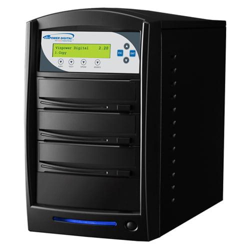 SharkCopier 2 Target CD DVD Duplicator with 320GB HDD