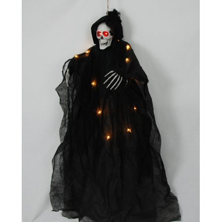 Way to Celebrate Halloween Black Hanging Character Decoration (36 in)