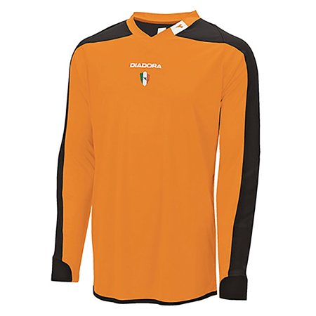 Diadora Boys Enzo Goalkeeper Jersey Shirts Orange YM