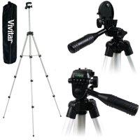 """50"""" pro photo/video tripod with case for canon vixia hf r72 r700 r70 r600"""