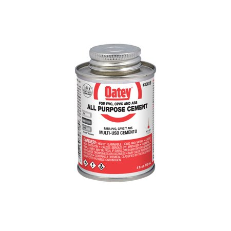 Oatey Abs Cement - OATEY? 4 OZ. ALL PURPOSE CEMENT