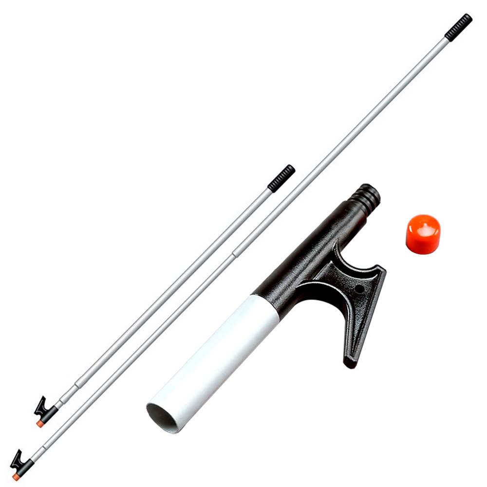 "Click here to buy Davis 4132 3 Section Telescoping Boat Hook, Adjusts 38"" to 96"" by Davis Instruments."