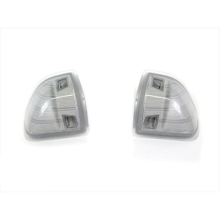 Dodge Ram Left & Right Side LED Outside Rear View Side Mirror Turn Signal Lamps Mopar OEM