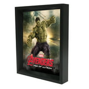 Pyramid America 'Hulk - Age of Ultron' 3D Framed Graphic Art on Wrapped Canvas