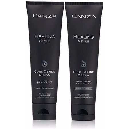 Lanza Smoother (LANZA Healing Style Curl Define Cream 4.2 oz. - 2 Pack )