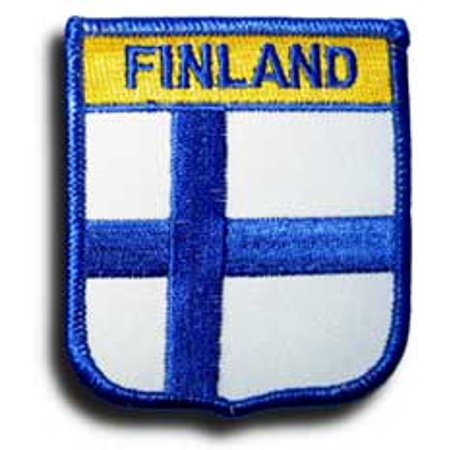 Finland Ribbons - Finland Shield Patch