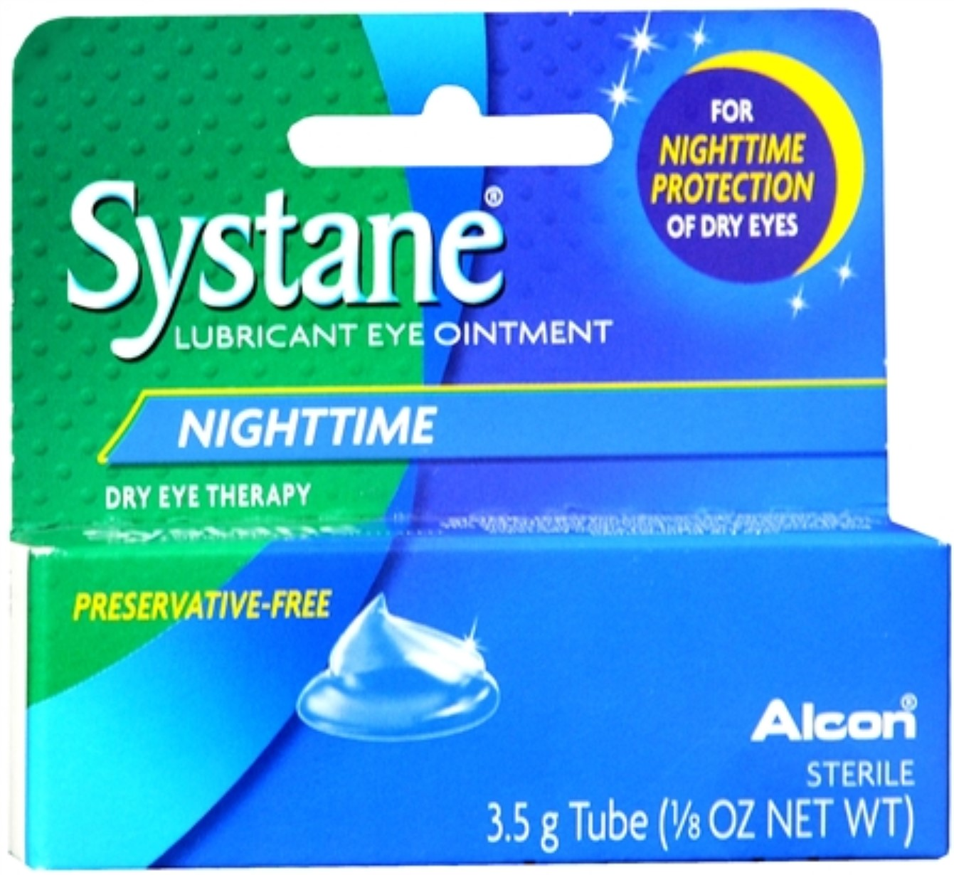 Systane Nighttime Lubricant Eye Ointment 3.50 g (Pack of 6)