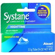 Systane Nighttime Lubricant Eye Ointment Overnight Relief, 0.125 FL OZ