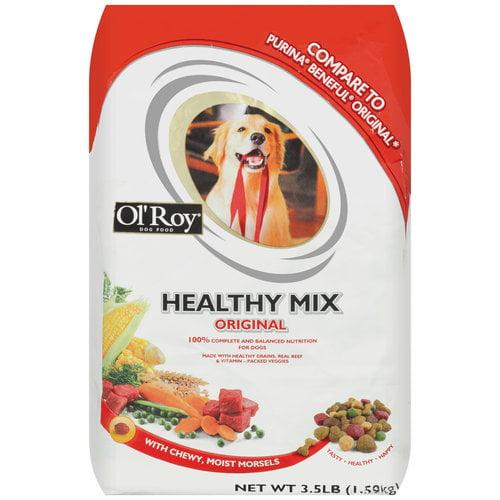 Ol' Roy Healthy Mix Original Dog Food, 3.5 lb