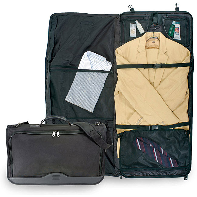 U.S. Traveler Ballistic Nylon Tri-fold Carry On Garment Bag