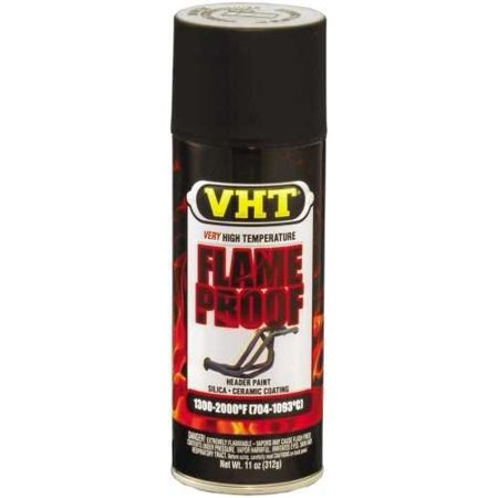 High Temp Exhaust Flameproof Paint, VHT Flat Black, Pt# SP102 sp 102SP102 By DupliColor