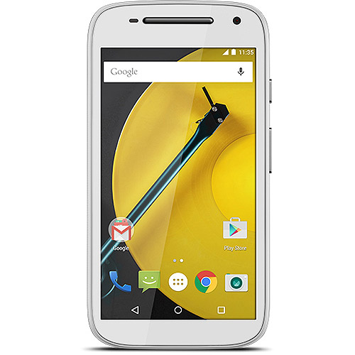 Motorola Moto E 723755006461 MOT1526BBB 4G LTE Prepaid Smartphone - GSM 850/900/1800/1900 MHz - Bluetooth 4.0 - 4.5-inch Display - 8 GB Storage - Boost Mobile - Android 5.0 Lollipop - 5.0 Megapixels