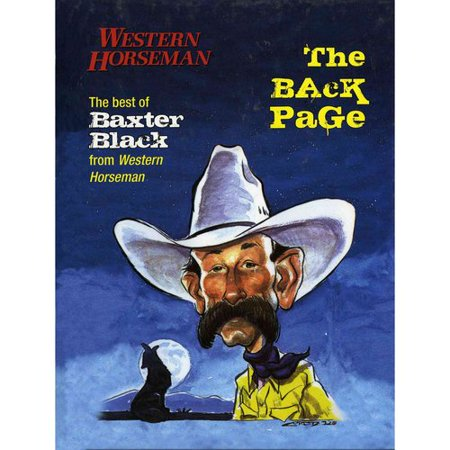 The Back Page  The Best Of Baxter Black From Western Horseman