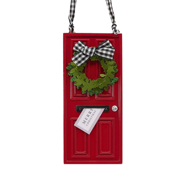 Hallmark Signature Premium Christmas Ornament Wreath on Door