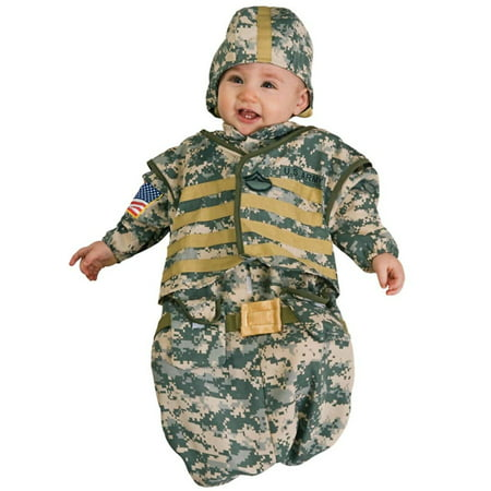 Infant Bunting Soldier Costume Rubies 885683 (Baby Soldier Costume)