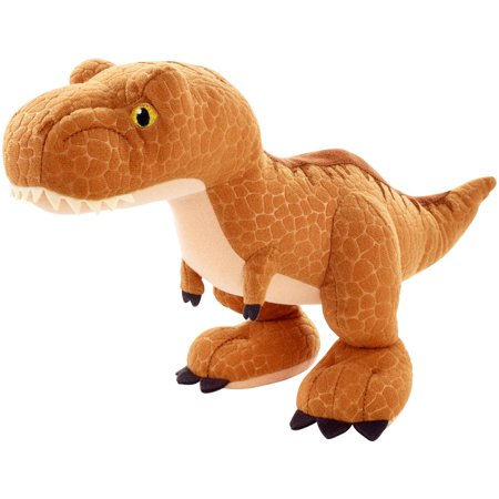 Jurassic World Basic Plush Tyrannosaurus Rex Dinosaur Figure - Dino Rex