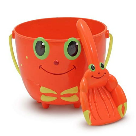 Clicker Crab Pail & Shovel (Melissa And Doug Sand Toys)