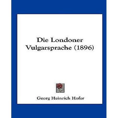 Die Londoner Vulgarsprache (1896) - image 1 of 1