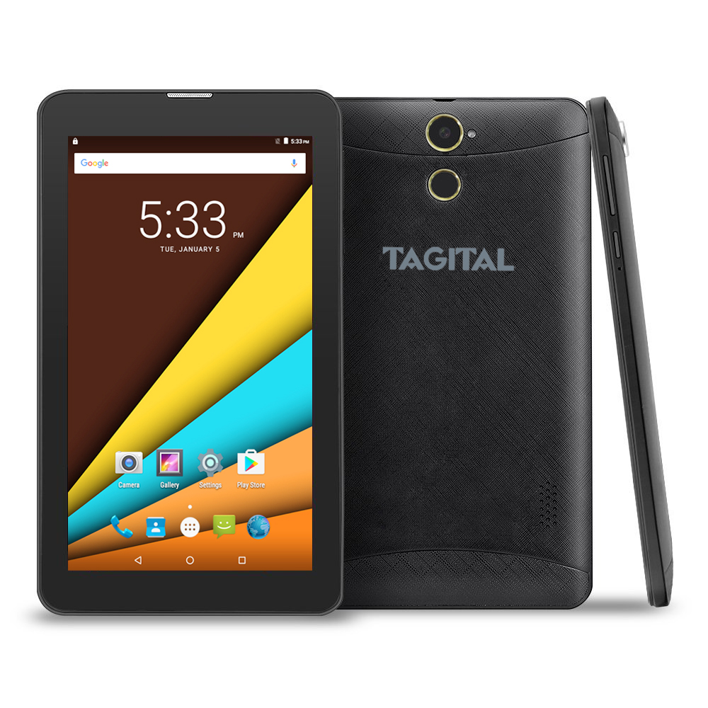 Tagital 7 Inch Quad Core Android 6.0 Dual Camera Unlocked Phablet Phone Tablet