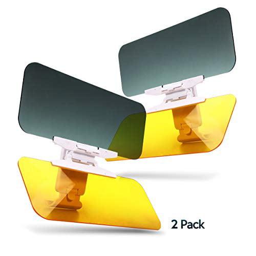 2 PACK EXTEND-A-VISOR-THE SUPER SUN BLOCKER!
