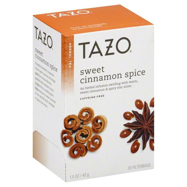 Tazo Herbal Tea Sweet Cinnamon Spice - 20 CT