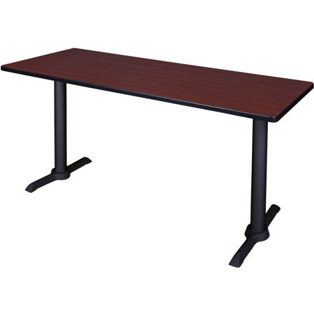 "Cain 72"" x 24"" Training Table- Mahogany, Multiple Colors"