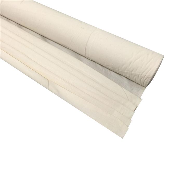 10 Yard Roll LA Linen 40-Inch Wide Natural Burlap