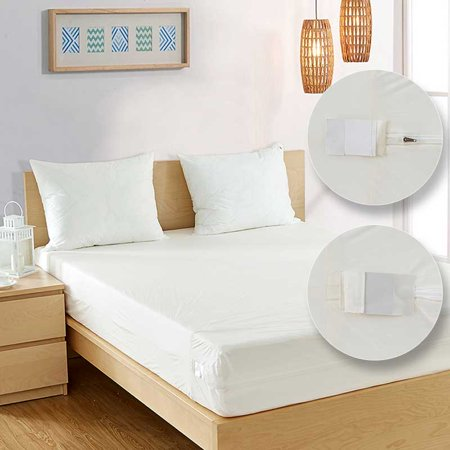 Allergy Store Vinyl Box Spring and Mattress Covers Twin 7