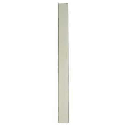 GLOBAL PARTITIONS Toilet Part,82in.H,22in.W,Almond 1FBR2 (Kraft Partitions)