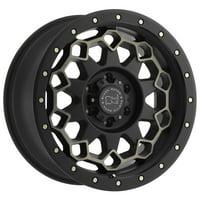 """Black Rhino Diamante 20x9 6x139.7 (6x5.5"""") +12mm Black/Machined/Tint Wheel Rim"""