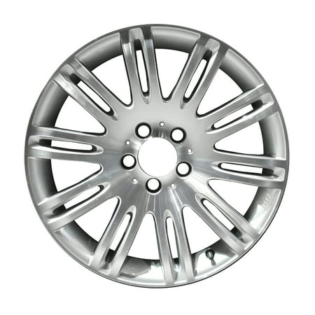2007-2009 Mercedes-Benz E350  18x8.5 Alloy Wheel, Rim Medium Silver Sparkle Full Face Painted - 65432