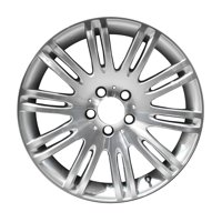 Aftermarket 2007-2009 Mercedes-Benz E350  18x8.5 Alloy Wheel, Rim Medium Silver Sparkle Full Face Painted - 65432