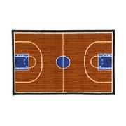 Fun Rugs Fun Time Basketball Court Sports Area Rug