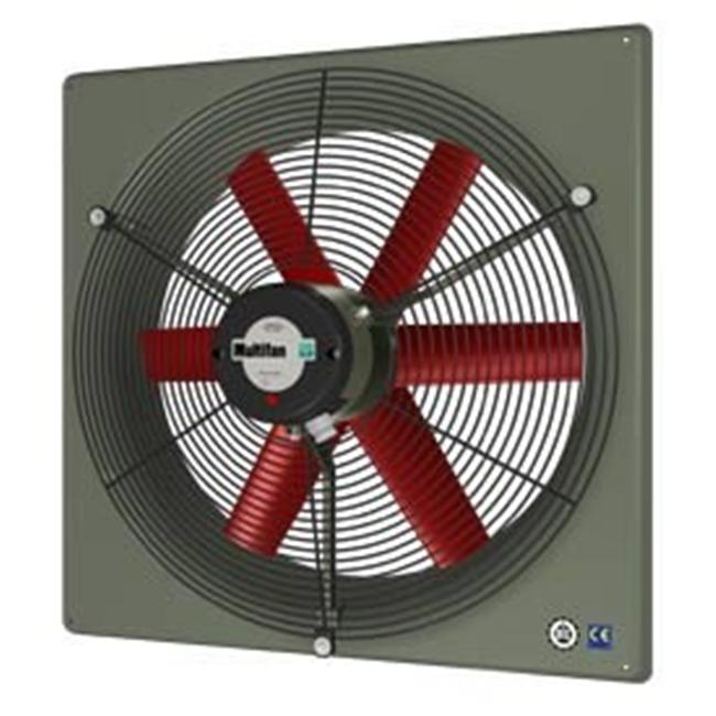 Vostermans Ventilation V4D35K1M71100 14 in. PANEL FAN IND 460V 3PH with GUARD