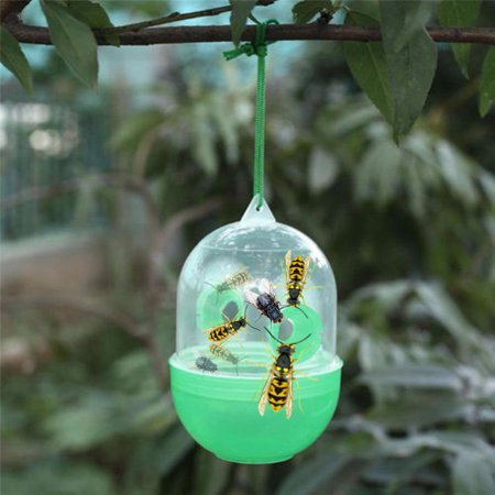 Outtop Wasp Fly Flies Bee Insects Hanging Trap Catcher Killer No Poison Or Chemical](Snl Killer Bees)