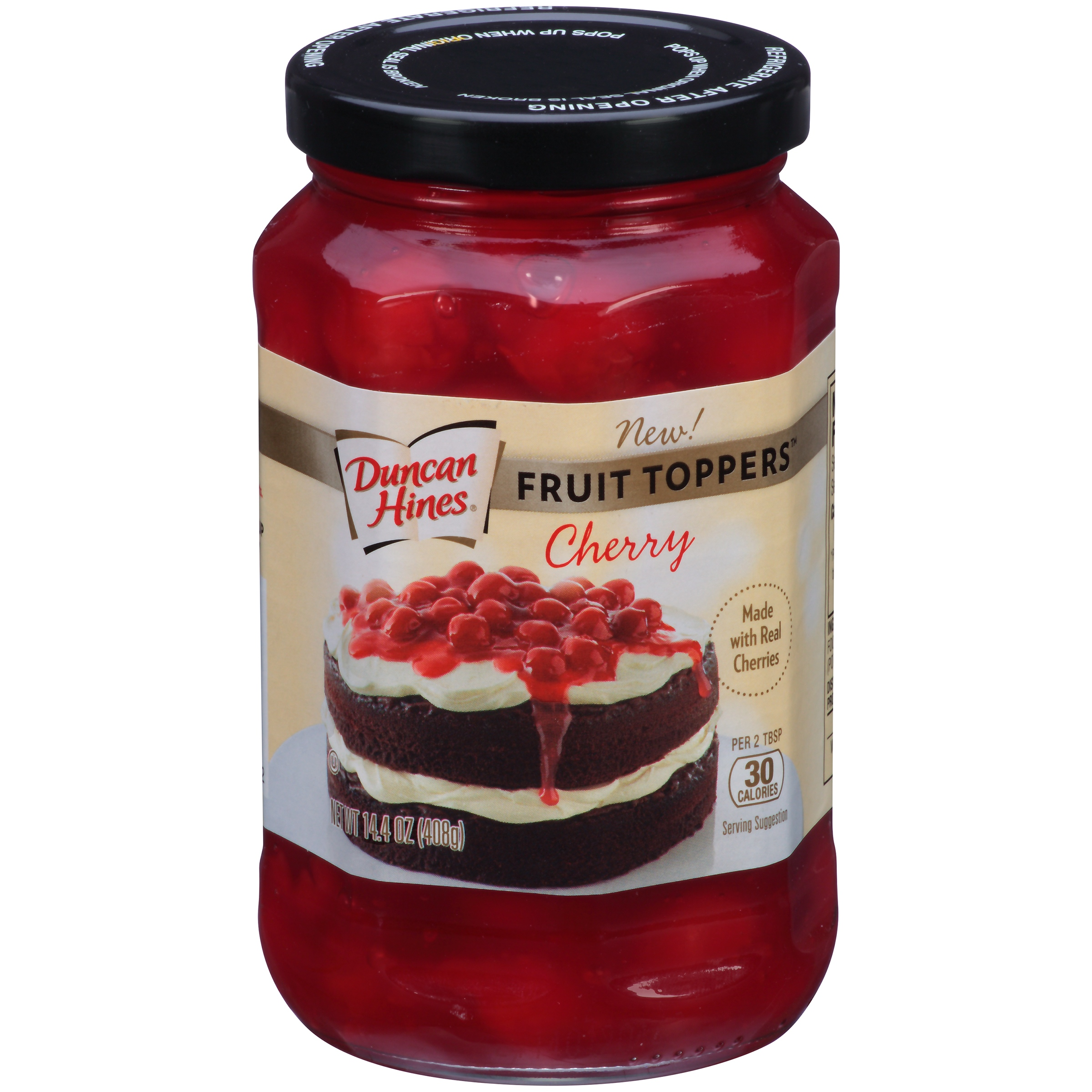 Duncan Hines Fruit Toppers Cherry Dessert Topping, 14.4 oz by Pinnacle Foods