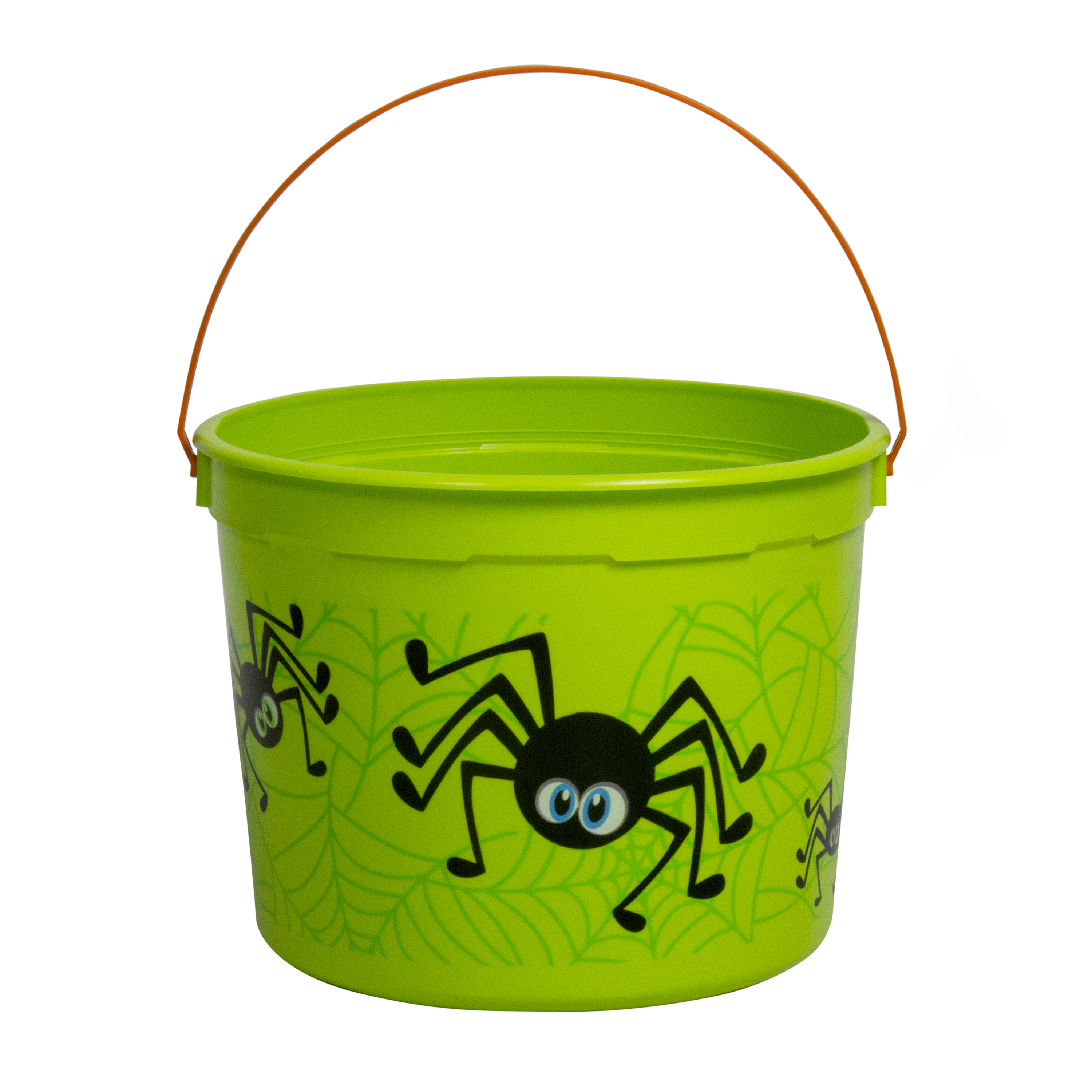 Halloween 5qt Bucket Spiders