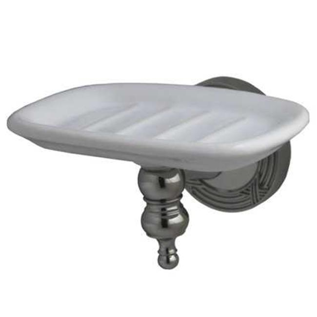 Kingston Brass BA9915PN Kingston Brass BA9915PN Templeton Wall-Mount Soap Dish  Polished Nickel - image 1 of 1