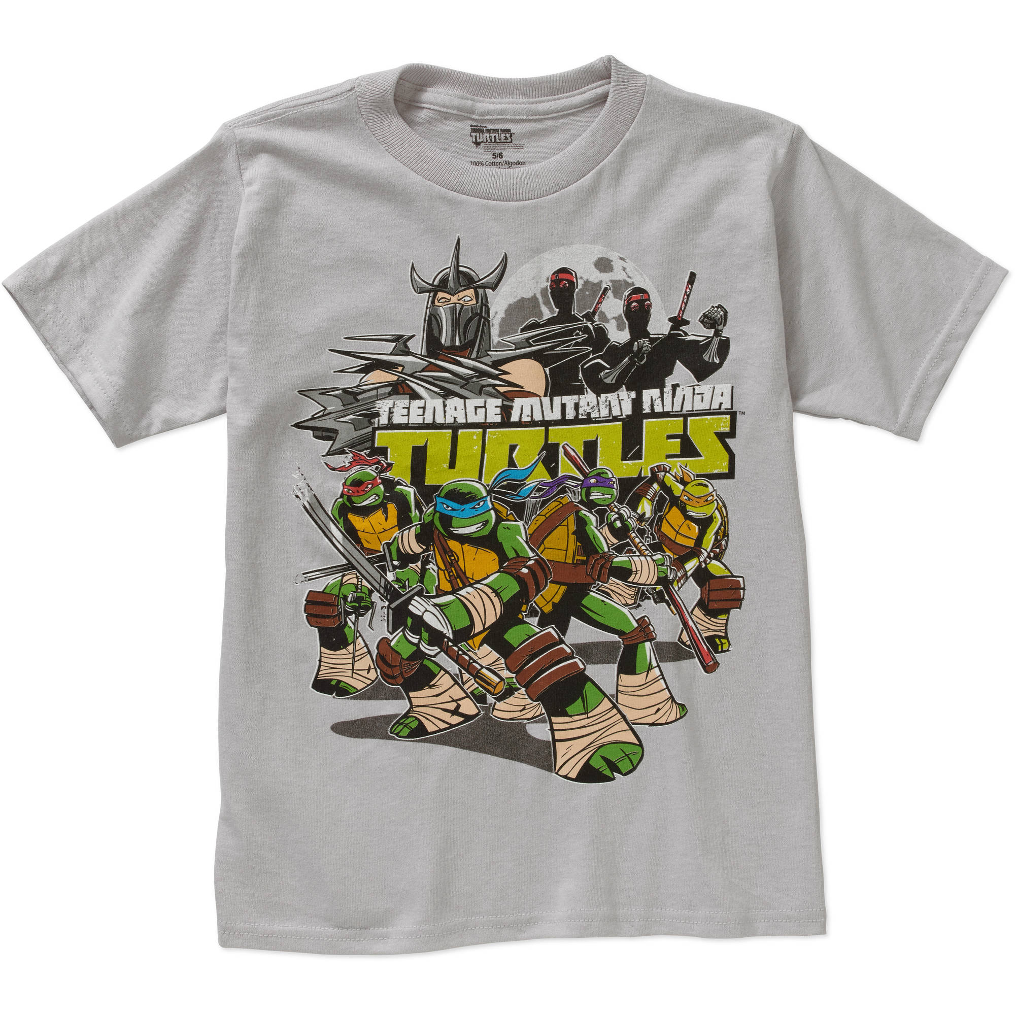 Teenage Mutant Ninja Turtles Group Boys Graphic Tee