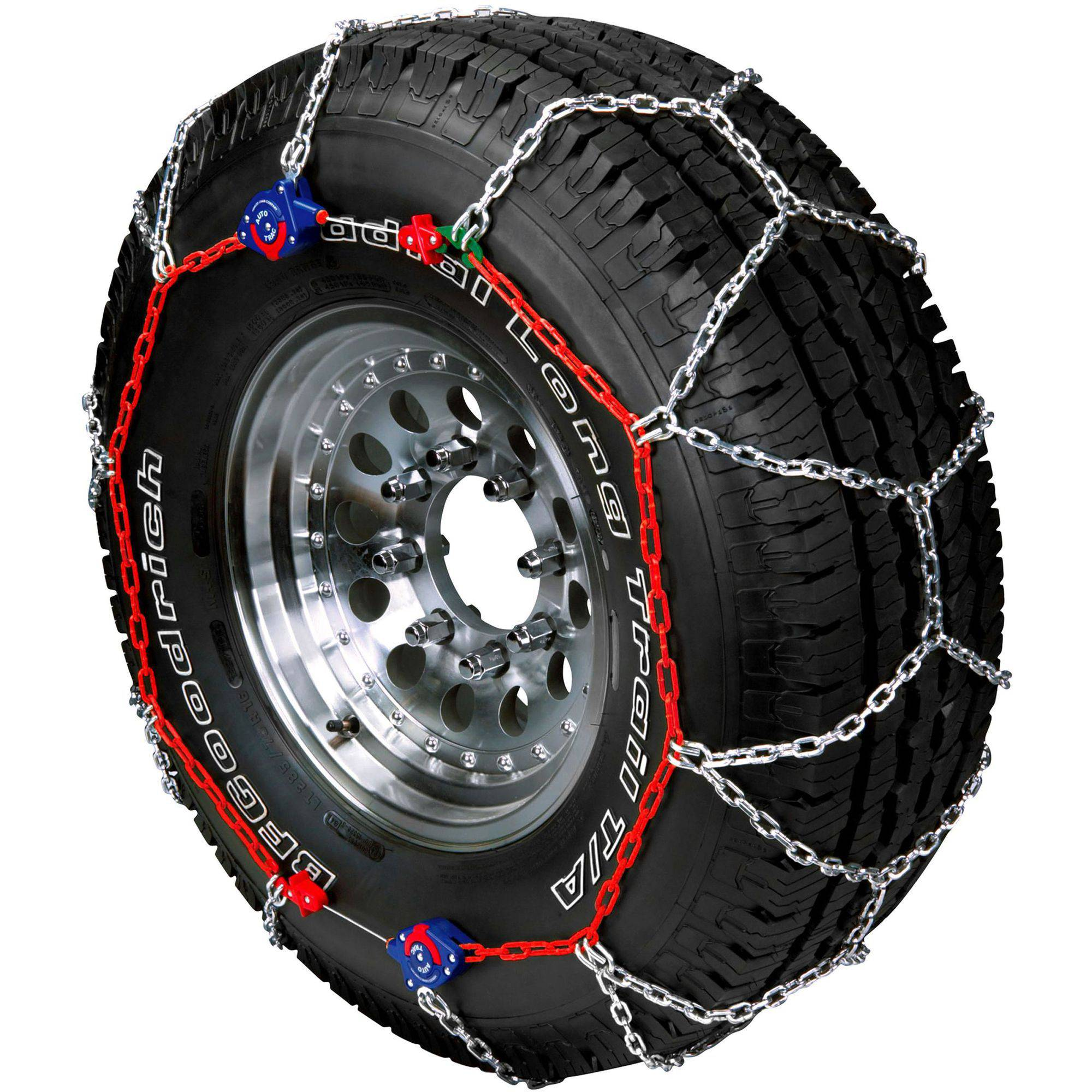 Autotrac Light Truck And Suv Self Tightening Tire Chains Walmart Com